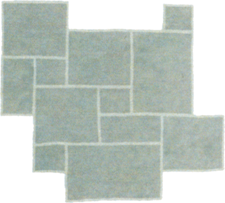 White Hall Grand Opus flagstone pattern
