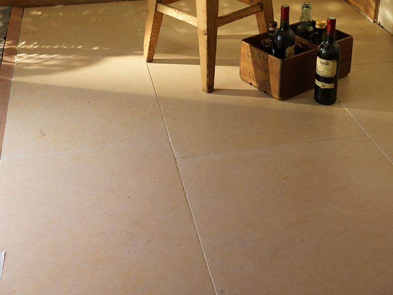 Clifton fossil stone flooring