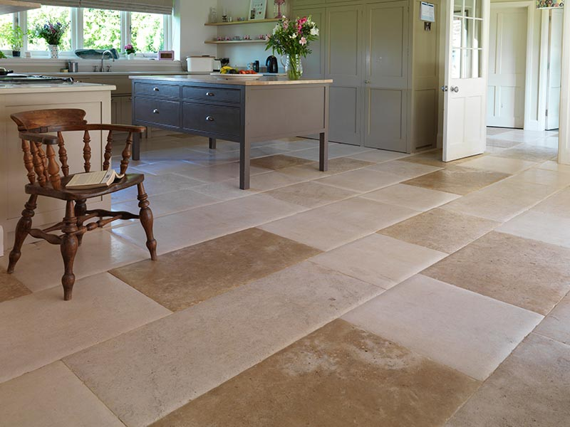 French limestone flooring tiles