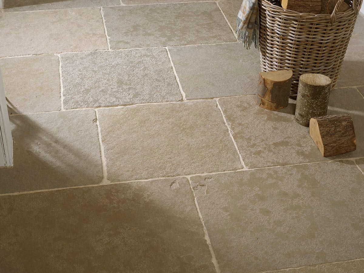 Old Farmhouse Green Flagstone Tiles